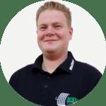 Serviceteam-Mitglied Maikel Schwendemann